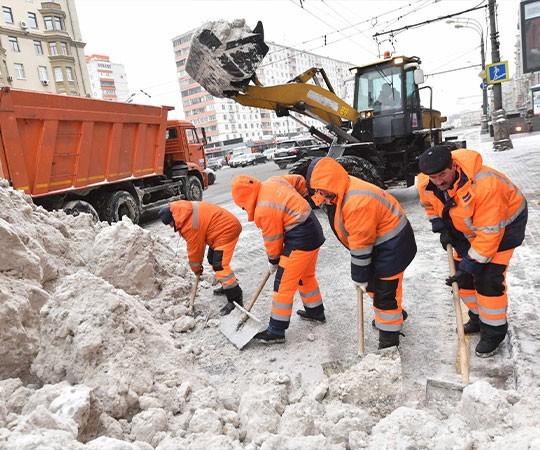 Уборка снега в Ижевске и Удмуртской Республике