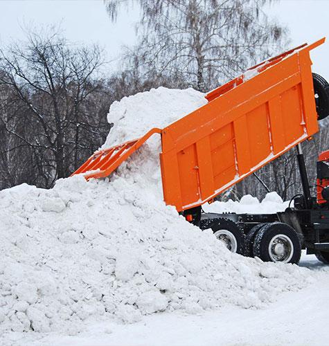 Услуга по уборке снега в Ижевске