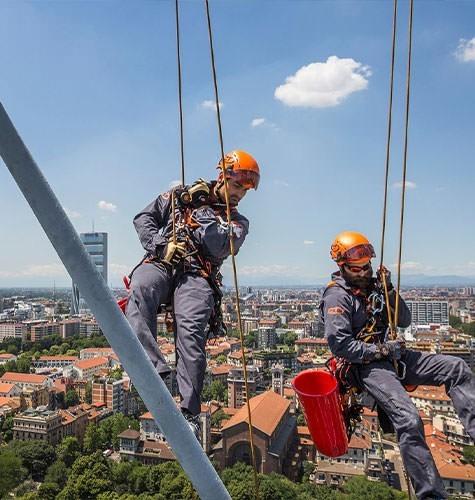 Услуги промышленного альпинизма в Ижевске