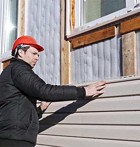 Отделка и ремонт фасада в Ижевске