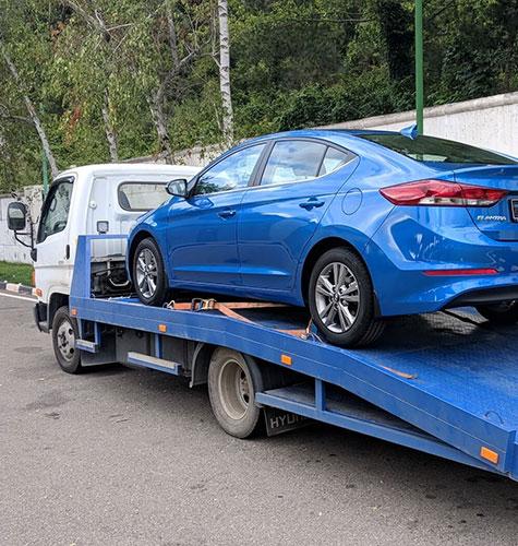 Транспортировка легковых авто в Ижевске