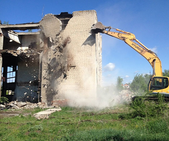 Демонтаж зданий в Ижевске и Удмуртской Республике