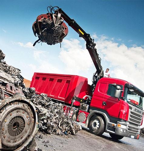 Вывоз мусора ломовозом в Ижевске